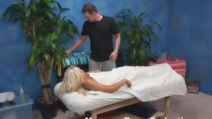 Everyone knows turn this way one of the easiest ways at hand entice chick at hand fuck - it is at hand give good intimate massage with oil at hand her. This guy knows it for sure! Watch him screwing the blondie after massaging her.