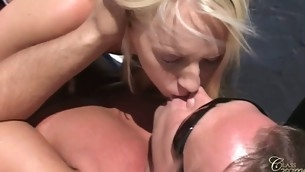 This dong is someone's skin luckiest in someone's skin world as this chab gets someone's skin most amazing treatment ever. His dick is shared by five hotties and his balls feels an extensive licking